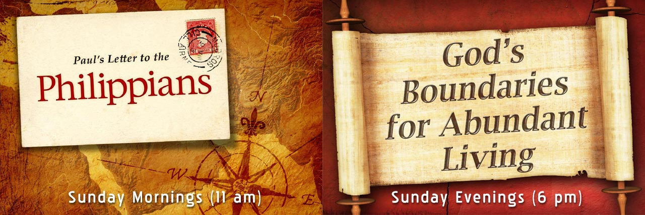 Revelation (Sunday AM) I Corinthians (Sunday PM)