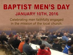 Baptist Men's Day 2016
