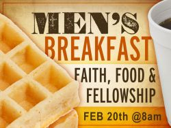 Men's Breakfast (02/2016)