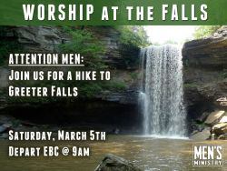 Worship at the Falls
