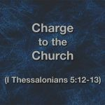 Charge to the Church
