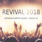 Revival - Monday PM